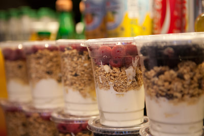 Boston Brewin fruit yogurt parfait